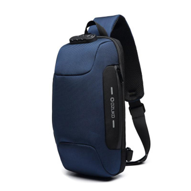 Men's Anti-Theft Waterproof Chest Shoulder Bag