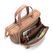 Retro Leather Large Capacity Shoulder Handbag
