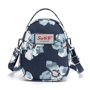 Floral Printed Crossbody Shoulder Phone Bag