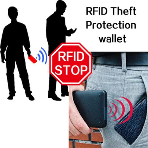 Anti-magnetic anti-rfid man's new wallet card bag(Any 2 get 10% off by code: BUY2)