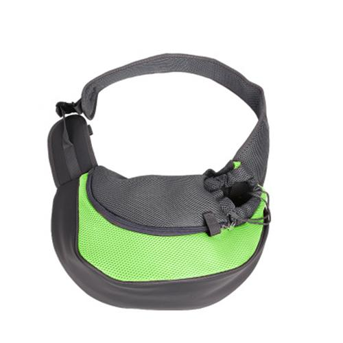 Portable cross-body shoulder bag for dogs and cats