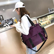 135347 New women's bag Korean casual big bag women's nylon shoulder bag three with diagonal cross bag