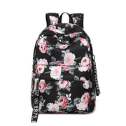 135363 Korean printing waterproof backpack student bag
