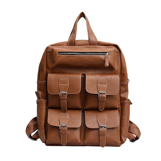 135373 Leisure travel backpack multi-pocket fashion business backpack large capacity computer