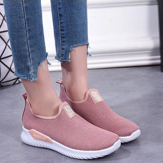 Women Breathable Sport Running Gym Shoes