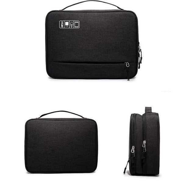 135481 Men and women bag multi-function digital storage bag