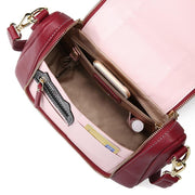135502 Women Flap Multifunction Bag Cute Cat Casual Crossbody Bag