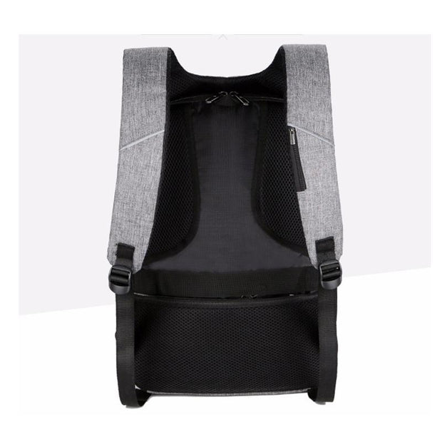 Men's backpack business security