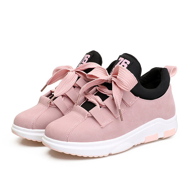 Women's Fashion Comfortable And Dynamic Wild Sports Shoes