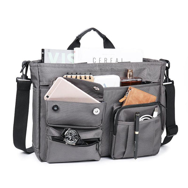 Men's Nylon Large Capacity Messenger Bag