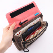 135782 Women Multi-function Wallet Anti-theft Straight Crossbody Bag Shoulder Bag