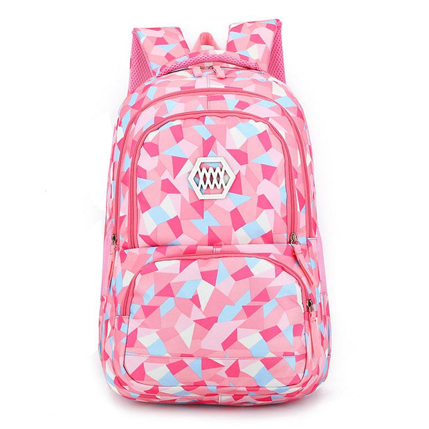 Cute Children's Bag Female Oxford Cloth Primary School Bag