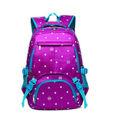 Heart-Shaped Printed Girl Child Elementary School Bag