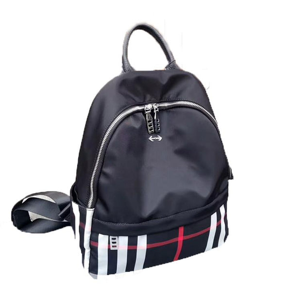 Oxford Anti-theft Waterproof Zipper Backpack