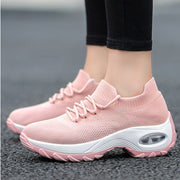 Women's Breathable Woven Socks Shake Shoes