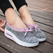 Women's woven breathable sports shoes