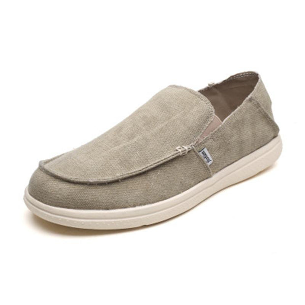 Men's canvas casual lightweight  breathable old Beijing shoes