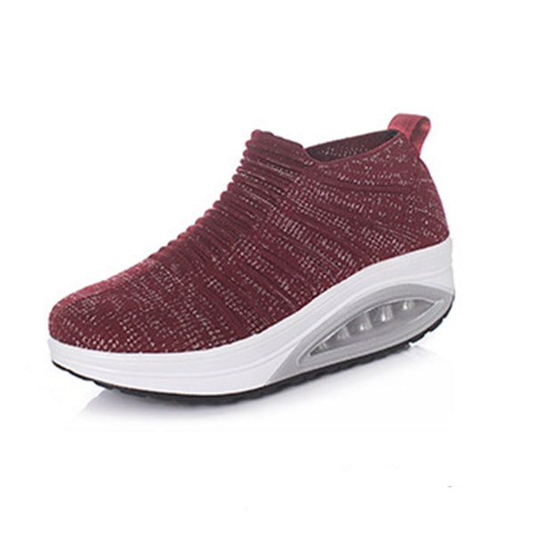 Women's breathable casual soft bottom shoes