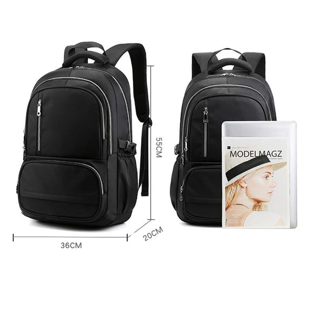 Men's and Women's Nylon Waterproof Backpack