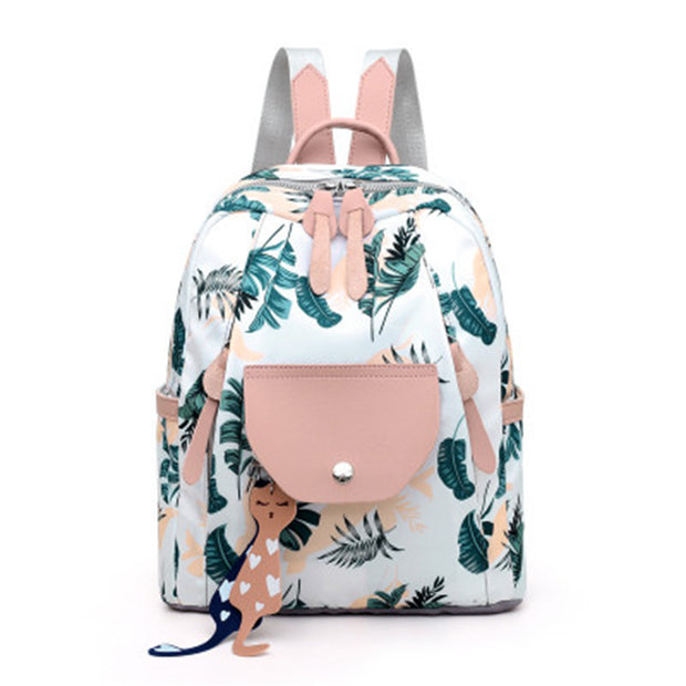 Women's cute backpack student school bag