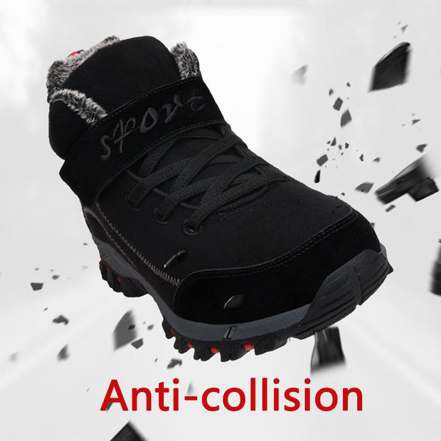 Men Winter Warm Cotton Boots Shoes
