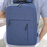 Men's USB Casual Business Notebook Backpack