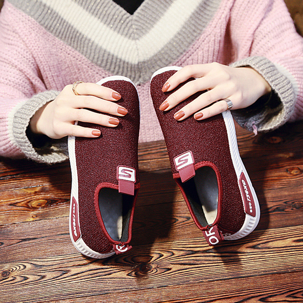 Women's Slip-Ons Knitted Comfy Shoes