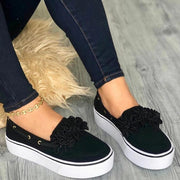 Women's Simple Style Loafers Shose