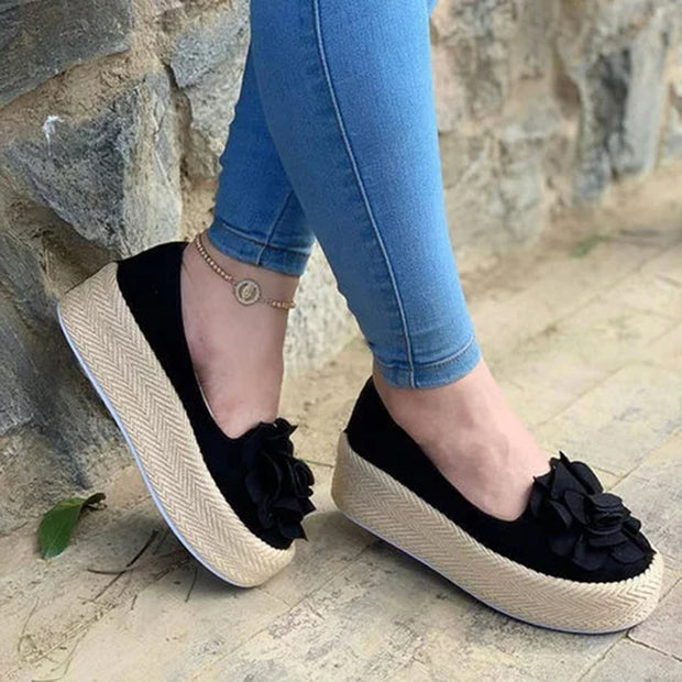 Women's Platform Loafers Walking shoes