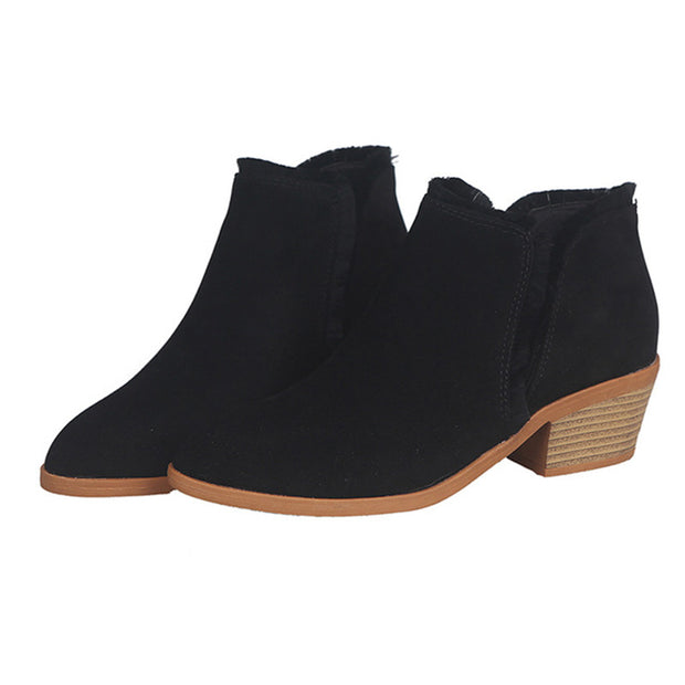 Women Female High Heels Single Shoes Boots