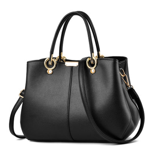 Women's fashion versatile large-capacity  handbag