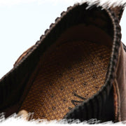 Men Suede Fabric Hand Stitching Warm Plush Lining Ankle Boots(Any 2 get 10% off by code: BUY2)