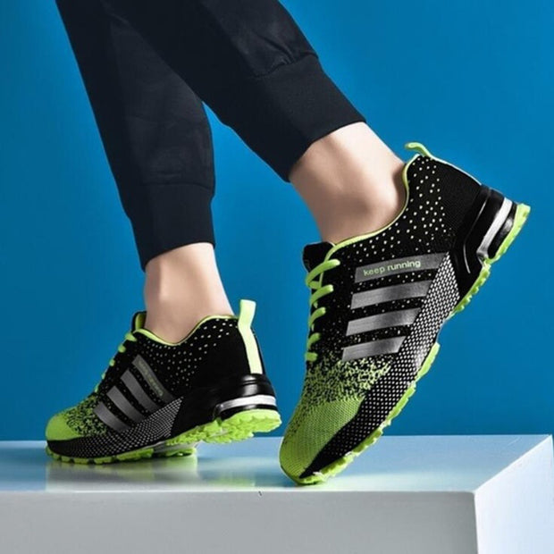 Women's Sports Mesh Fabric Breathable Sneakers