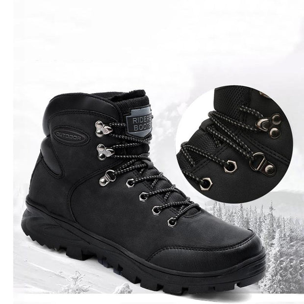 Men's Winter Warm outdoor High-top Casual Shoes