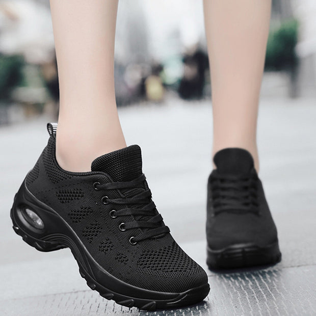 Women's Woven Breathable Air Cushion Shoes