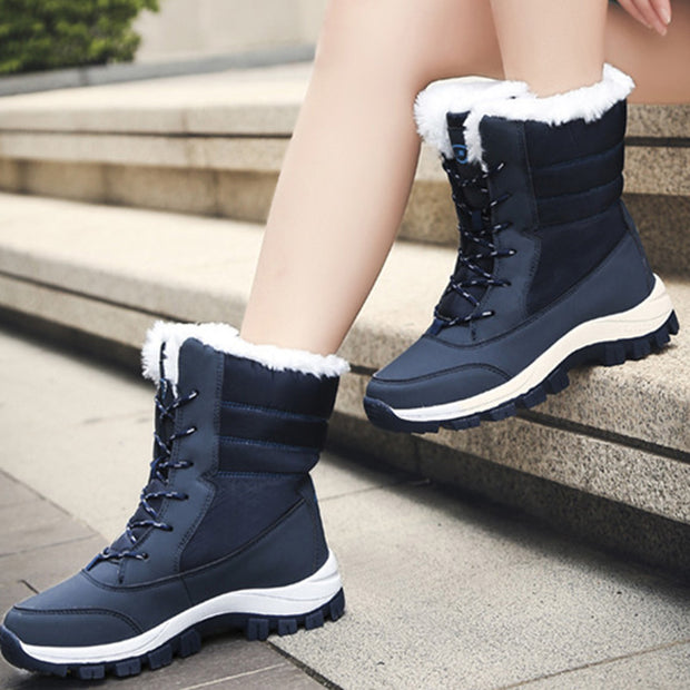 Women's Winter High-top Warm Cotton Snow Boots