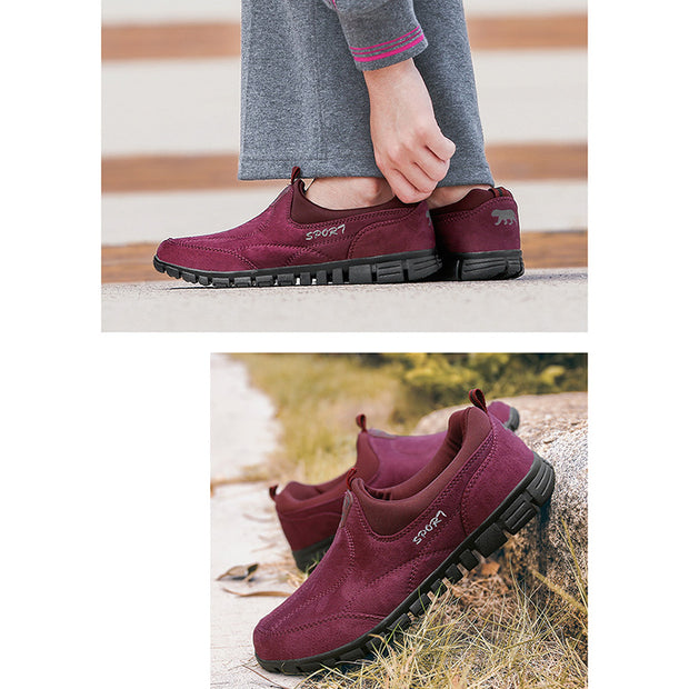 Women's Non-slip Warm Soft Bottom Shoes