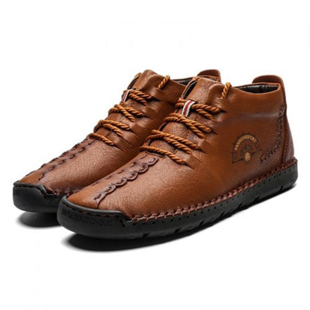 Men's Casual Leather Lace-up Shoes(Buy 2 get -10% by code:BUY2)