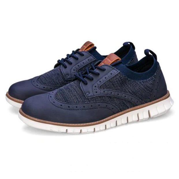 Men Casual Brock Style Breathable Shoes
