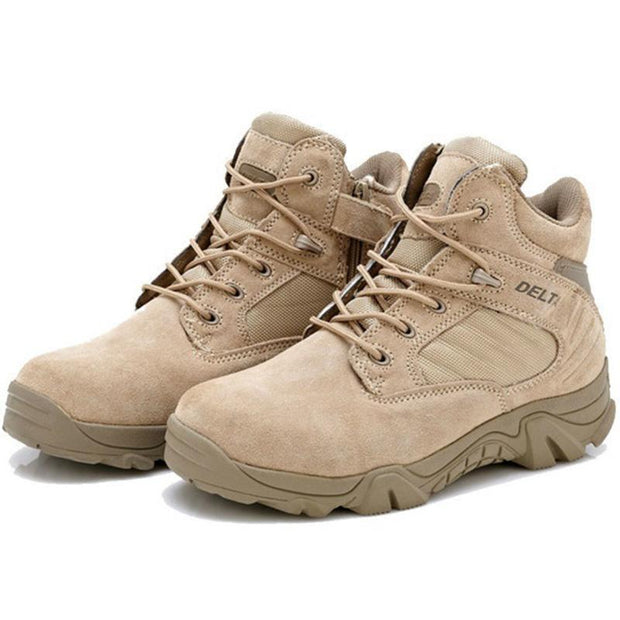 Men's Desert Tactical Boots Army Military Hiking Climbing Shoes