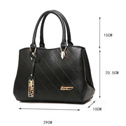 Women's Fashion Business Leather Handbag