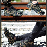 Men's Protective Outdoor HIiking Safety Shoes