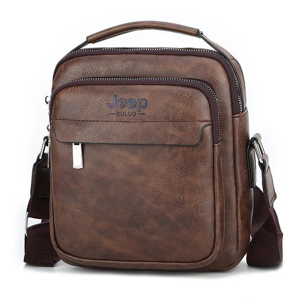Men's Fashion Leather Business Shoulder Bag