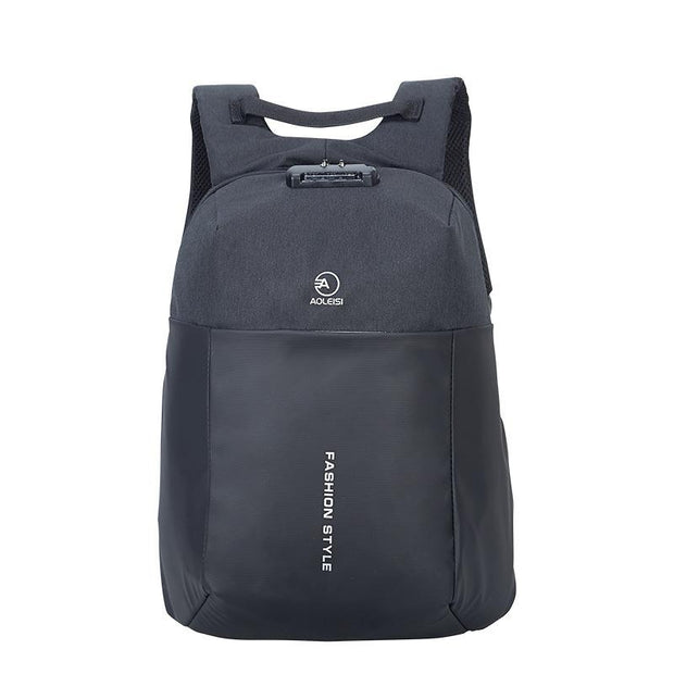 Men's Casual Oxford Travel Laptop Backpack