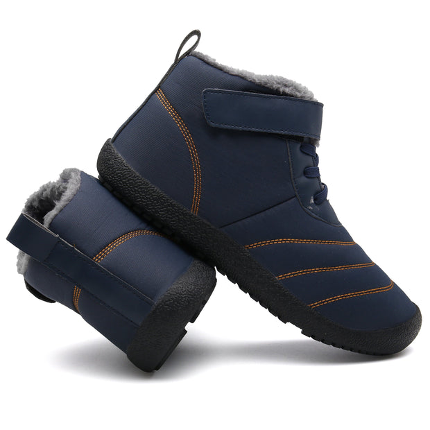 137115 Large Size Snow Boots Warm Men's Cotton Shoes