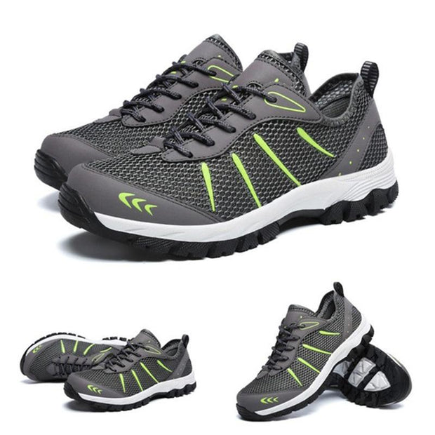 Men's Mesh Breathable Outdoor Hiking Walking Shoes