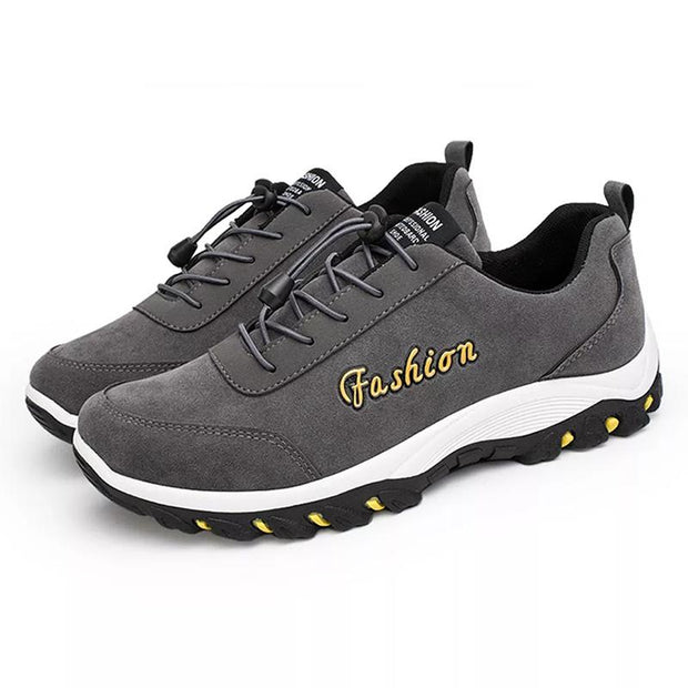 Men  Casual Lightweight Soft Outdoor Hiking Sneakers