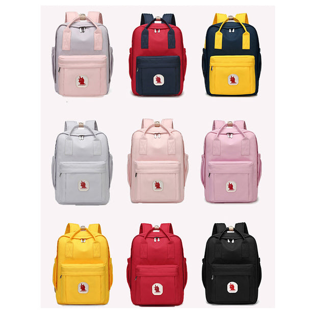 Women's Versatile Simple Travel Student Backpack