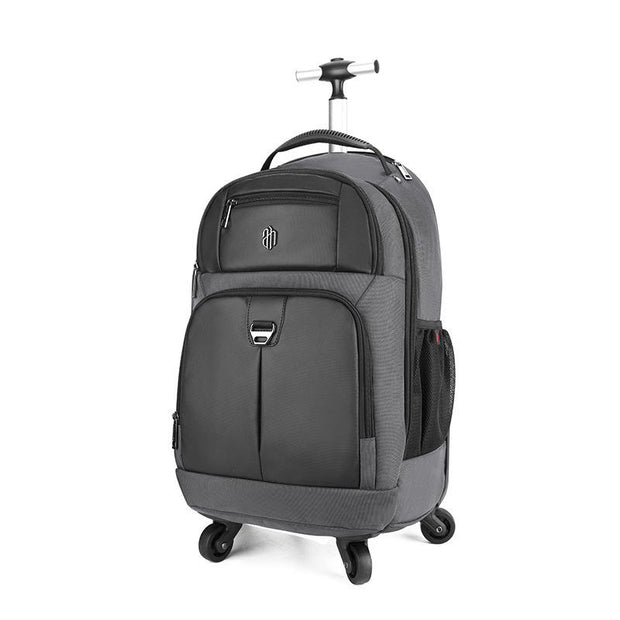 Men's Trolley Backpack Large Capacity Travel Dual-use Luggage Bag