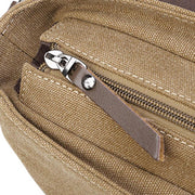 Men's Casual Canvas Travel Messenger Bag